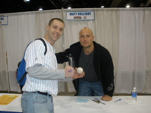 Me, Matt Holliday and his home run.JPG